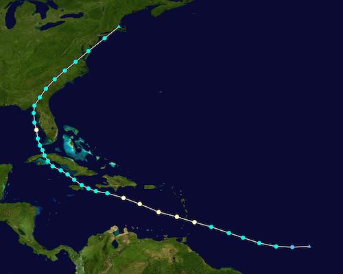 US Insured Losses From Hurricane Elsa Estimated at $240M