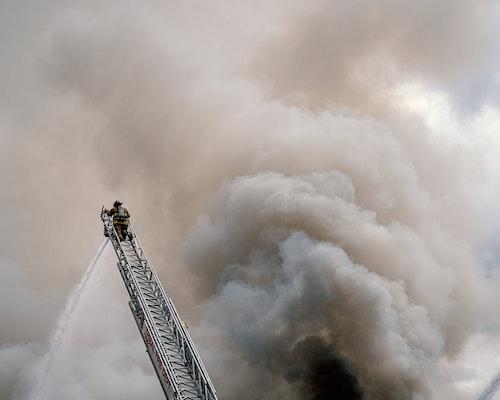 Man-Caused Explosions Start Blaze That Destroys Pennsylvania Townhouses