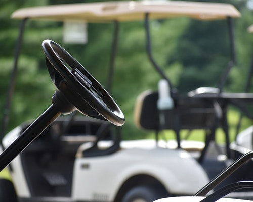 Horse Farm's Insurer Will Have To Defend An Off-Site Golf Cart Accident
