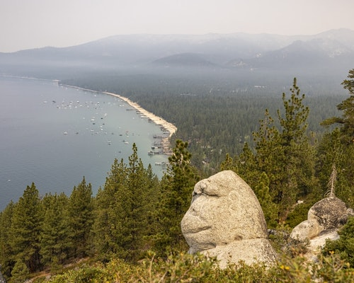 California Wildfire Races Toward Lake Tahoe After Mass Evacuation