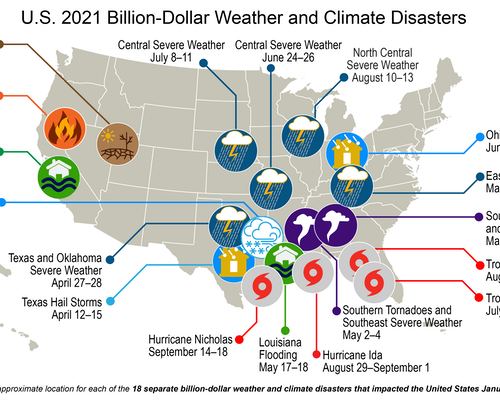 Disaster Fatigue 2021: US Hit With 18 Billion-Dollar Extreme Weather Events