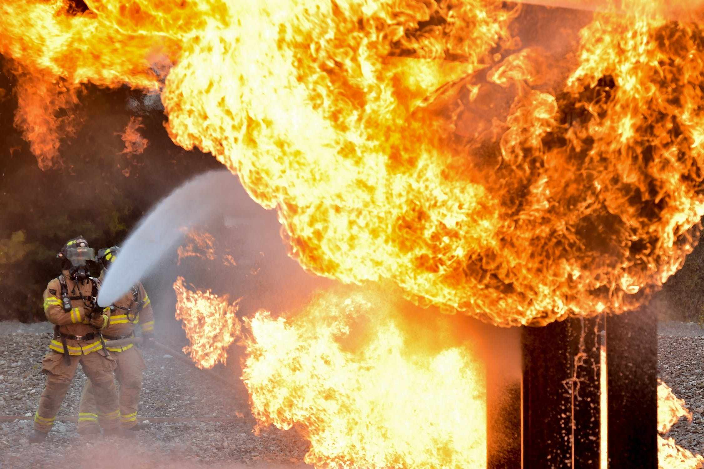 Rockton, Illinois Chemtool Fire Continues Burning; Evacuation Order Remains in Effect